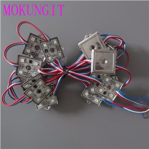 200pcs UCS1903 DC24V Waterproof Super Bright full color 3535 5050 SMD 4 LEDs Module String Light DC24V IP65