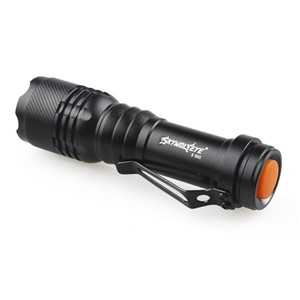 New E502 LED Flashlight Mini Penlight 3 Modes 300LM Aluminium Zoomable CREE Q5 LED Torch Lamp Flash Light 14500 AA Outdoor