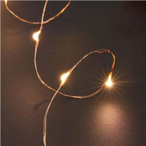 LED Strip Copper Fairy Light String USB Powered 5.5m 50LED Metal Wire Outdoor indoor Holiday Christmas Wedding Party Decoration