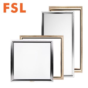 FSL 12W 18W 24W Aluminum Square LED Ceiling Panel Light AC 220V Ultra Thin Sealed Structure Damp Proof Rust Proof 30*30 /30*60cm
