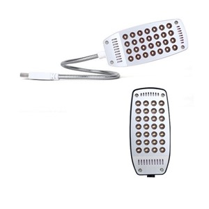 Random Colors Flexible Bright Cute Mini Portable 28 LED USB Light Computer Lamp Reading Lamp USB Gadgets For Notebook Computer