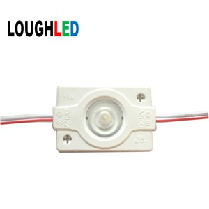 DC12V 1.5W SMD3030 Injection LED Module Light  IP65 with Lens 160 degree for LED Lightbox