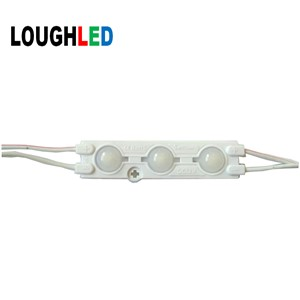 SMD5730 DC12V 1.5W 3LEDS Injection LED Modules Samsung with 160 degree lens white red green blue yellow