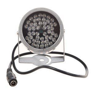 Practical 48-LED CCTV IR Infrared Night Vision Illuminator
