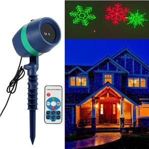 LED Light Projection Outdoor Projector Moving Light For Christmas Party Outdoor Garden Decor ALI88