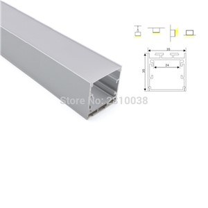 100 X 1M Sets/Lot New arrival aluminum profile led strip light and Deep U-type aluminum led channel for wall lights