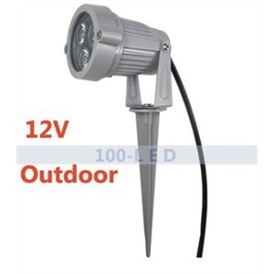 Pond Light Garden SpotLight outdoor Waterproof light LAMP 3w