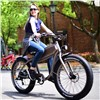 26inch eletric bicycle Snow electric ebike 4.0 fat tire Detachable expansion of external electric three-wheeled off-road ATV