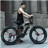 26 Electric snow mountain bike 4.0 tire fit snow tires Powerful high speed motor drive Off-road lithium battery beach ebike ATV
