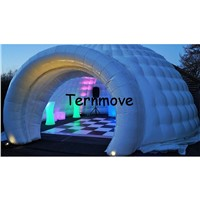 Inflatable igloo tent Inflatable event tents Portable Inflatable Marquee Tents with LED Lights toys Inflatable Dome Party Tent