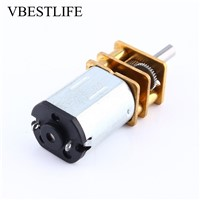 6V 100RPM Motor Miniature Electric Reduction Motor Metal Gearbox Gear Motor Or RC Robot Model Toy Hot Sale