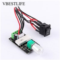DC 6-28V PWM Motor Speed Regulator Reversible Switch Controler Governor Motor Speed Regulator