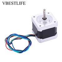 18 Degree Nema17 Stepper Motor 1.3A 57oz-in 1Nm Motor 40mm for CNC Router Printer