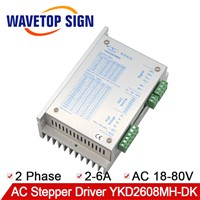 YAKO Two-Phase Stepper Motor Driver YKD2608MH-DK Use for CNC Router Machine