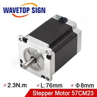 Leadshine Nema 23 2Phase Stepper Motor 57CM23 Holding Torque 2.3N. M Current 5A Positioning Torque 68mN. m