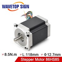 Leadshine Nema34 Stepper Motor 86HS85 8.5N. M 2Phase Step Motor Laser Engraving Machine CNC Router