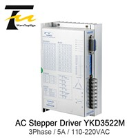 YAKO Stepper Motor Driver YKD3522M 3Phase for Voltage Range 110V-220VAC Current 5A Frequency 400KHz