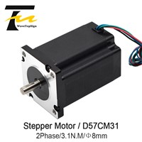Leadshine Stepper Motor D57CM31 3.1Nm 2-Phase NEMA23 Stepper Motor 6A Phase Current