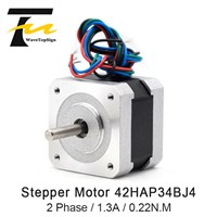 2 Phase Stepping Motor Nama17 0.9 Stepper Motor 0.22N. M 42HAP34BJ4