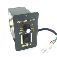Single Phase AC 220V Motor Speed Controller 6/15/25/40/60/90/120/200/250W Adjust Speed Forward Reverse For AC Motor Control