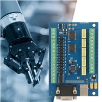 Driver Board USB 5 Axle 100K Control Card for Mach3 +4 Pcs TB6600 Driver Board CNC Motion Control Set