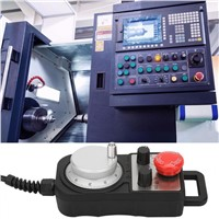 4 Axle Control Board 4 CNC Motion Controller Aluminum Alloy Shell with Emergency Stop Function Electrical Handwheel Motor