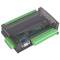 PLC Programmable Logic Controller Industrial Control Board Load 4 Analog Inputs Relay Module Motor Controller with Housing