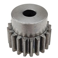 Metal Iron Gear Wheel with 1 Modulus 20 Teeth the Diameter of Inner Hole 6MM 7MM 8MM 10MM 12MM Gear Use for Motor Mechanical Etc