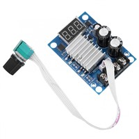 DC Motor Speed Controller 12-60V 20A Motor Speed Controller PWM Stepless Speed Regulator Module Digital LED Display