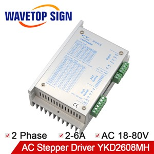 YAKO 2 Phase Stepper Motor Driver YKD2608MH Match with 57 86 Serial Stepper Motor Use CNC Router Machine