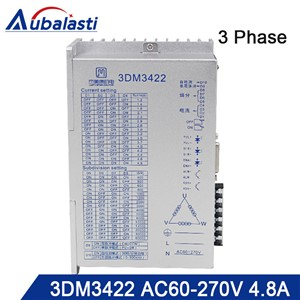 3phase AC Stepper Motor Drver 3DM3422 Input Voltage AC60-270V Match with 110 130 Serial Step Motor Use for CNC Router