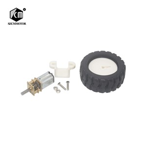 Micro Gear Motor with Wheel Kit for Robot