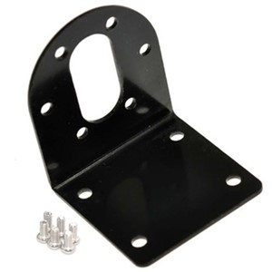 Electric DC Motor Metal Mounting Bracket Fixed Bracket Use for DC Geared Motor 37MM Diameter Gearbox Model Toy Car Accessories