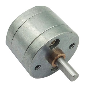 DC Motor Gearbox Reduction Ratio 1:4.4/1:9.6/1:21.3/1:35/1:46/1:78/1:103/1:171/1:226/1:377/1:500 Metal Gears for DC Gear Motor