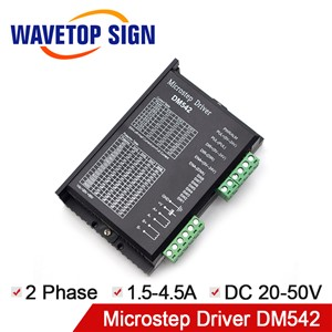Digital Stepper Motor Driver DM542 Microstep Driver 2Phase 20-50VDC for 57 60 86 Series Motor Replaces M542 / 2M54 / TB6600
