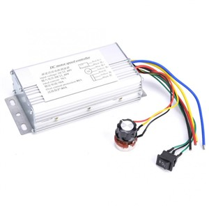 12V-60V 70A PWM DC Motor Speed Controller Reversible Forward/Reverse Rotation Stepper Motor Controller