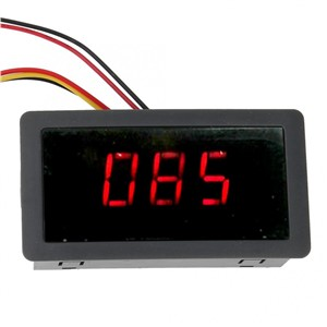 DC Motor Controller Digital Display PWM Stepless Control Board DC6~30V Motor Regulator with Knob