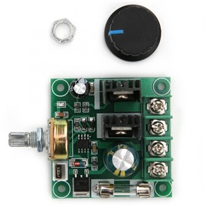 DC Motor Speed Controller PWM Stepless DC9~50V Motor Speed Controller Switch