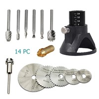 Dremel Style Accessories Rotary Tool HSS Saw+Milling Blades for Woodworking Rotary Set Dremel Tool Wood Carving Tools