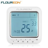 Floureon Digital Temperature Controller Thermostat LCD Display Anti-Freezing Electric Floor Heating Thermoregulator 220VAC