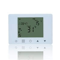 WiFi & RF Wireless Digital Thermostat Touch Screen Gas Boiler Water Floor Heating Smart Temperature Controller Remote Control
