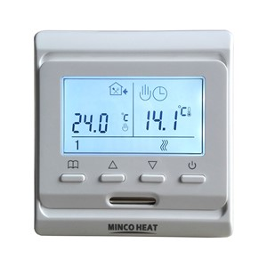 Ship from Russia 220V LCD Programmable Electric Digital Floor Heating Room Air Thermostat White Weekly Warm Floor Controller