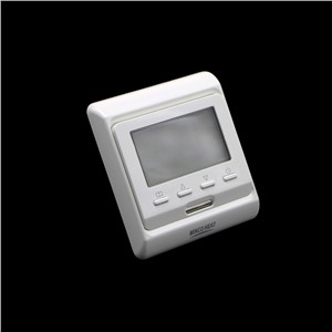 M6.703 723 New LCD Weekly Programmable Electric Digital Water Floor Heating Air Thermostat White Weekly Warm Floor Controller