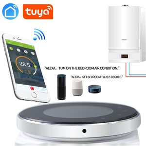 SMART TUYA Alexa Echo Google Home Water/Gas Boiler Thermostat Backlight WiFi Weekly Programmableroom Temperature Controller
