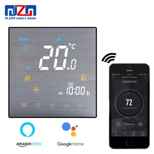 WiFi Thermostat for Electrical Heating Underfloor Temperature Controller Smart Life/Tuya APP Works with Alexa Google Home