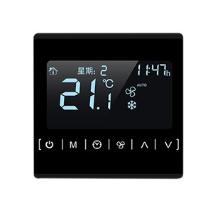 MH1821 110v 220v Touch Screen Black Back Light Programmable Thermostat Warm Floor Temperature Controller