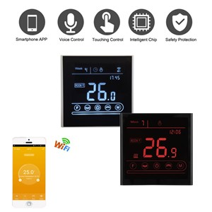 95~240V WiFi Thermostat MK70 for Water Heating Electric Heating Gas Boiler Touch Screen Temperature Controller with Smart Home