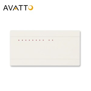 AVATTO Thermostat Hub Controller 8 Sub-Chamber Electric Valve LCD Box Indicate 8 Channels Gas Boiler NC/NO Actuator Concentrator
