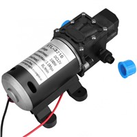 12V DC 100W 8L/Min 160Psi High Pressure Diaphragm Self Priming Water Pump for Wash Tools