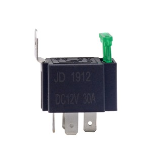 1PC 12V DC 4 Pin Car Automotive Fused Relay 30A Normally Open Relais, Socket Optional